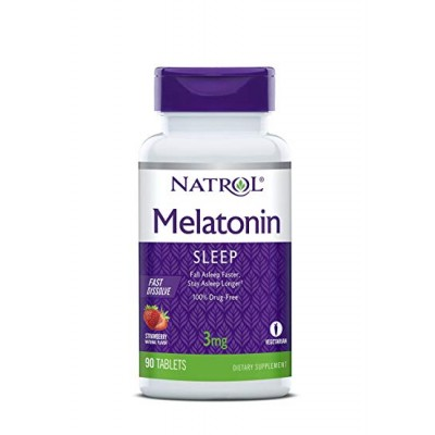 Мелатонин Natrol Melatonin 3mg FD (90 таб)