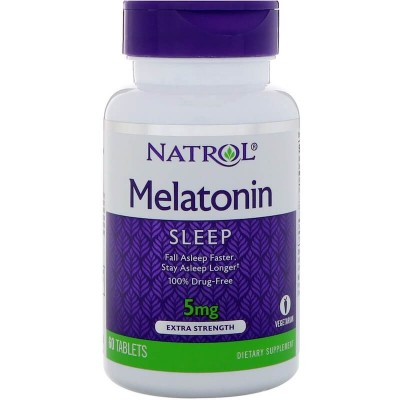 Мелатонин Natrol Melatonin 5 mg (60 таб)