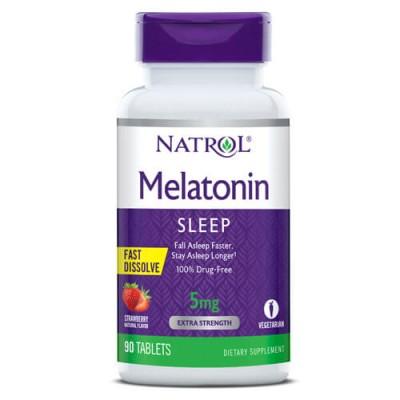 Мелатонин Natrol Melatonin 5 mg Fast Dissolve (90 таб)