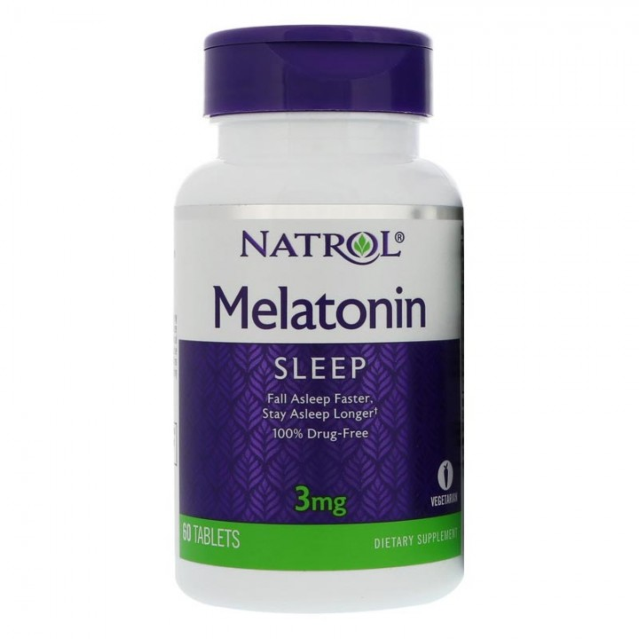 Natrol Melatonin 3mg (60 таб) - Мелатонин