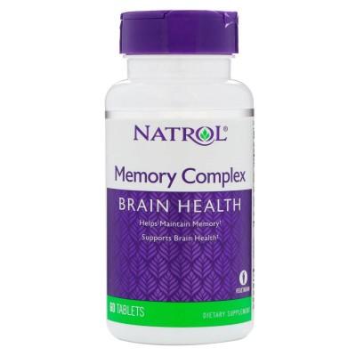 Комплекс для мозга Natrol Memory Complex (60 таб)