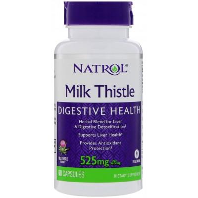 Расторопша Natrol Milk Thistle (60 капс)