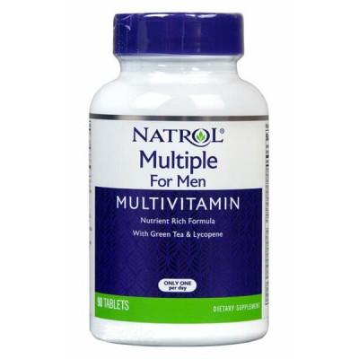 Витамины для мужчин Natrol Multiple for Men (90 таб)
