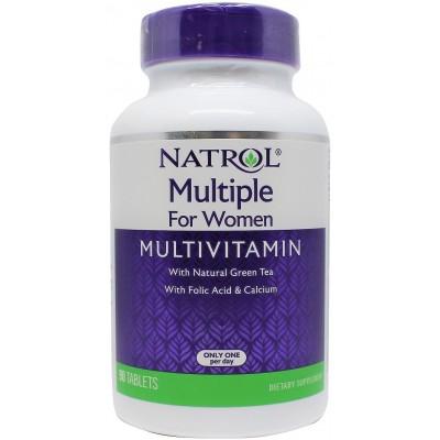 Витамины для женщин Natrol Multiple for Women (90 таб)