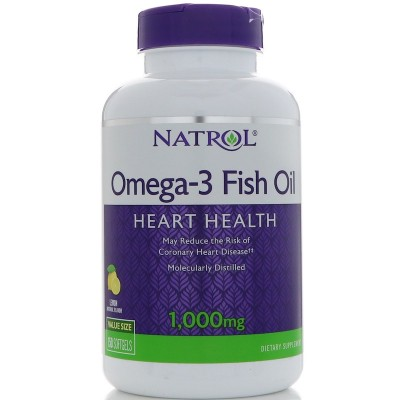 Рыбий жир Natrol Omega-3 Fish Oil (150 капс)