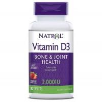 Natrol Vitamin D3 2,000 IU Fast Dissolve (90 таб)