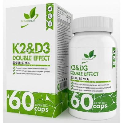 Витамин Д3 и К2 NaturalSupp Vitamin K2 & D3