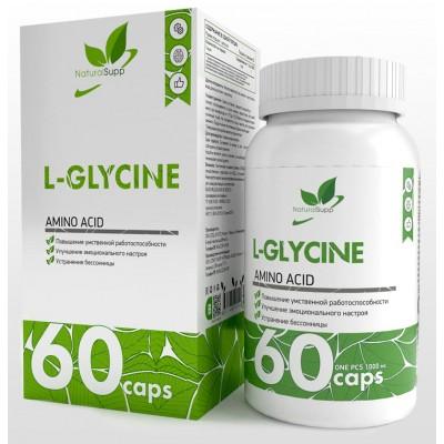 Глицин NaturalSupp L-Glycine (60 капс)