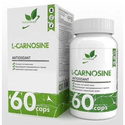 Карнозин NaturalSupp L-Carnosine (60 капс)