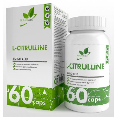 Цитруллин NaturalSupp L-Citrulline (60 капс)