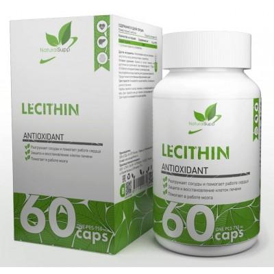 Соевый лецитин NaturalSupp Lecithin (60 капс)