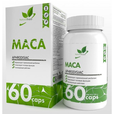 Мака перуанская NaturalSupp Maca (60 капс)