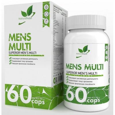 Витамины для мужчин NaturalSupp Mens Multi (60 капс)