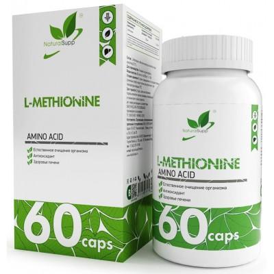 Метионин NaturalSupp L-Methionine (60 капс)