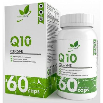 Коэнзим Q10 NaturalSupp Coenzyme Q10 (60 капс)
