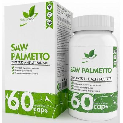 Со Пальметто NaturalSupp Saw Palmetto (60 капс)
