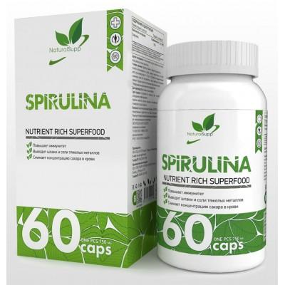 Спирулина NaturalSupp Spirulina (60 капс)