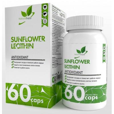Подсолнечный лецитин NaturalSupp Sunflower Lecithin (60 капс)