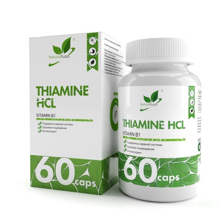 Витамин Б1 NaturalSupp Thiamine (60 капс)