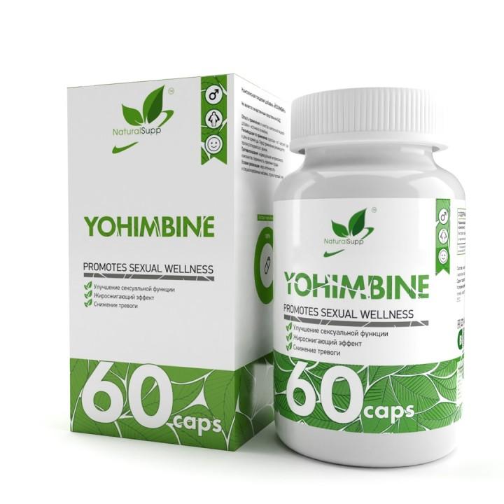 Йохимбин NaturalSupp Yohimbine (60 капс)