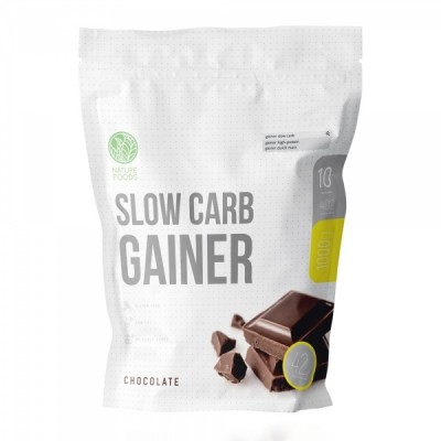 Гейнер Nature Foods Slow Carb Gainer (1000 гр)