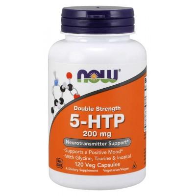 5-Гидрокситриптофан Now Foods 5-HTP 200mg (120 капс)