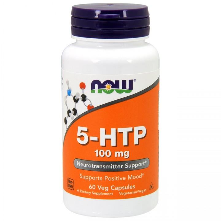5-Гидрокситриптофан Now Foods 5-HTP 100mg