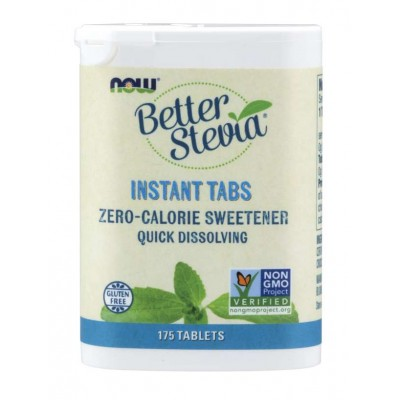 Сахарозаменитель Стевия Now Foods Better Stevia Instant Tabs (175 таб)