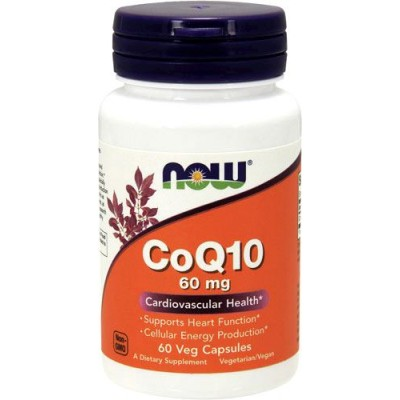 Коэнзим NOW CoQ10 60mg