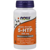 Now Foods Double Strength 5-HTP 200mg (60 капс)