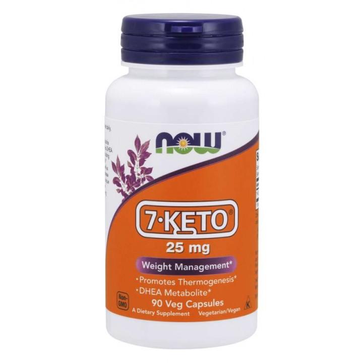 Мелаболит ДГЭА Now Foods 7-Keto 25 mg (90 капс)