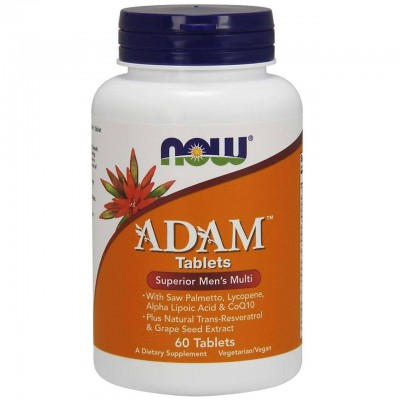 Витамины для мужчин Now Foods Adam (60 таб)