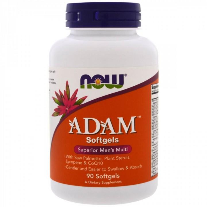 Витамины для мужчин Now Foods ADAM (90 капс)