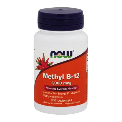 Витамин Б12 Now Foods B-12 Methyl (100 таб)