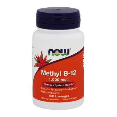 Витамин Б12 Now Foods B-12 Methyl (100 таб)