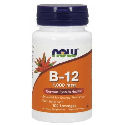Витамин Б12 Now Foods Vitamin B-12 1000 mcg (100 таб)