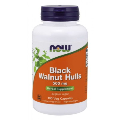 Черный орех Now Foods Black Walnut Hulls (100 капс)