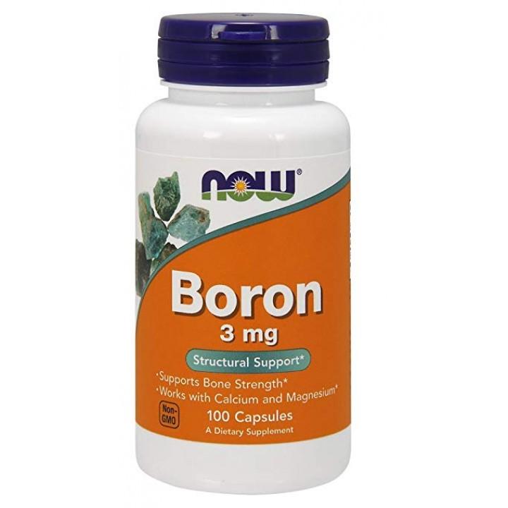 Бор Now Foods Boron (100 капс)