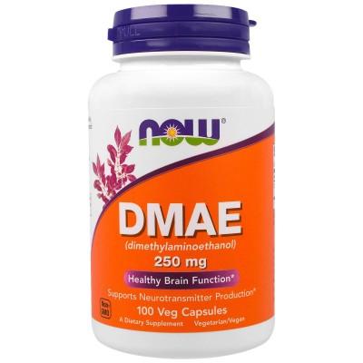 Диметиламиноэтанол Now Foods DMAE 250mg (100 капс)