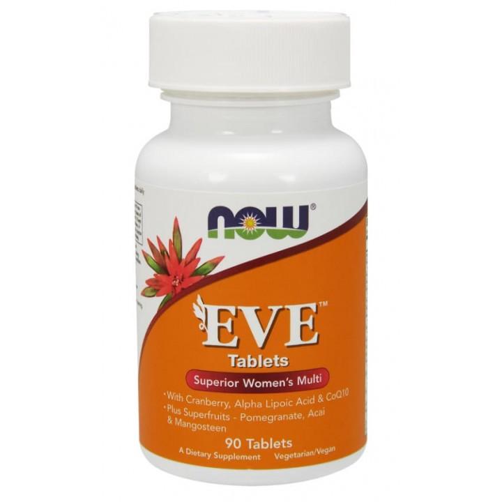 Витамины для женщин Now Foods EVE (90 таб)