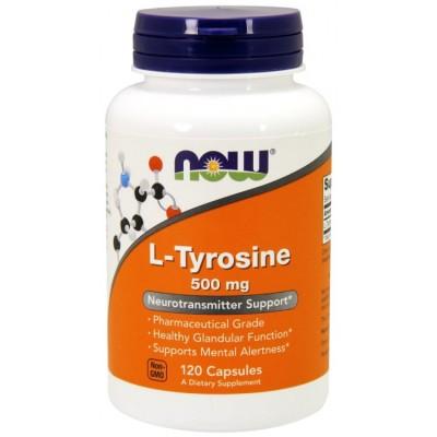 Тирозин Now Foods L-Tyrosine (120 капс)
