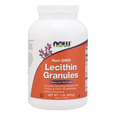 Лецитин Now Foods Lecithin Granules (454 гр)