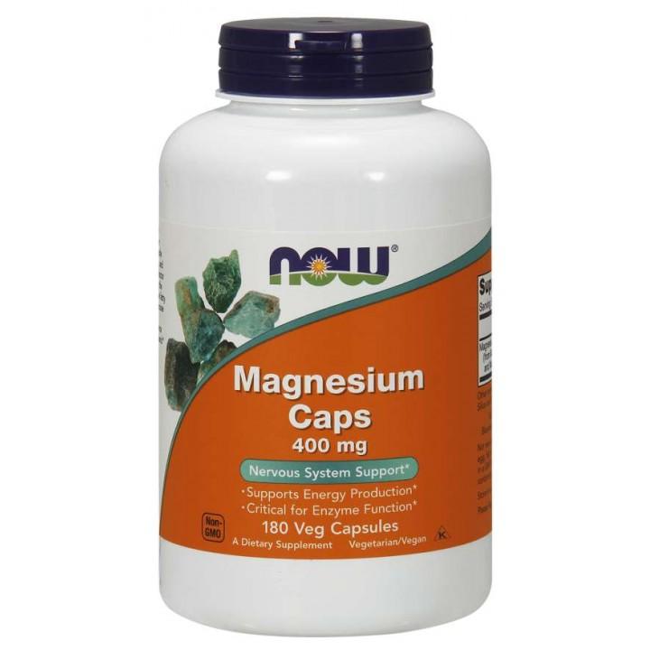 Магний Now Foods Magnesium Caps 400 mg (180 капс)