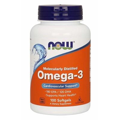 Рыбий жир Now Foods Omega-3