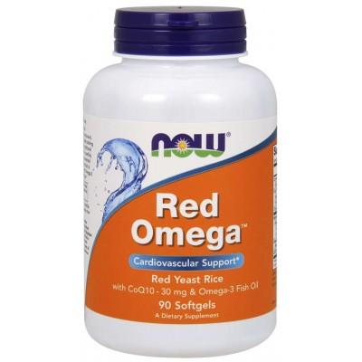 Рыбий жир Now Foods Red Omega (90 капс)