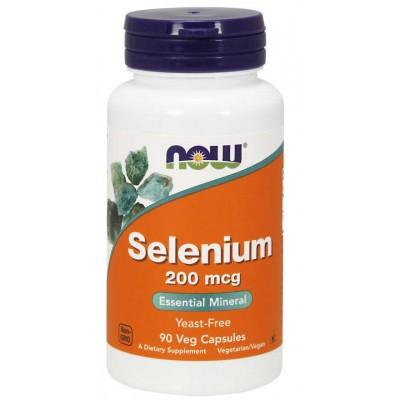 Селен Now Foods Selenium 200 mcg