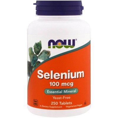 Селен Now Foods Selenium (250 таб)