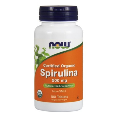 Спирулина Now Foods Spirulina (100 таб)