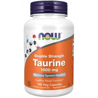 Таурин Now Foods Taurine 1000 (100 капс)