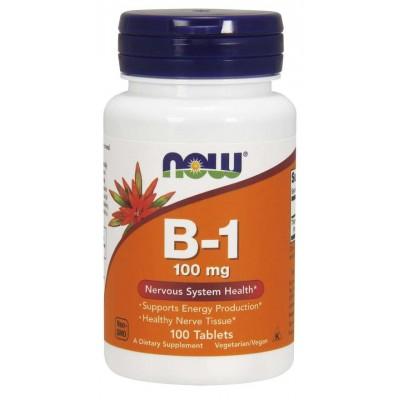 Витамин Б-1 Now Foods Vitamin B-1 (100 таб)